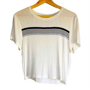 American Eagle Cropped jersey short sleeve tshirt